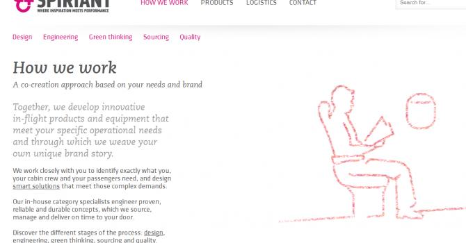 Screengrab of SPIRIANT website